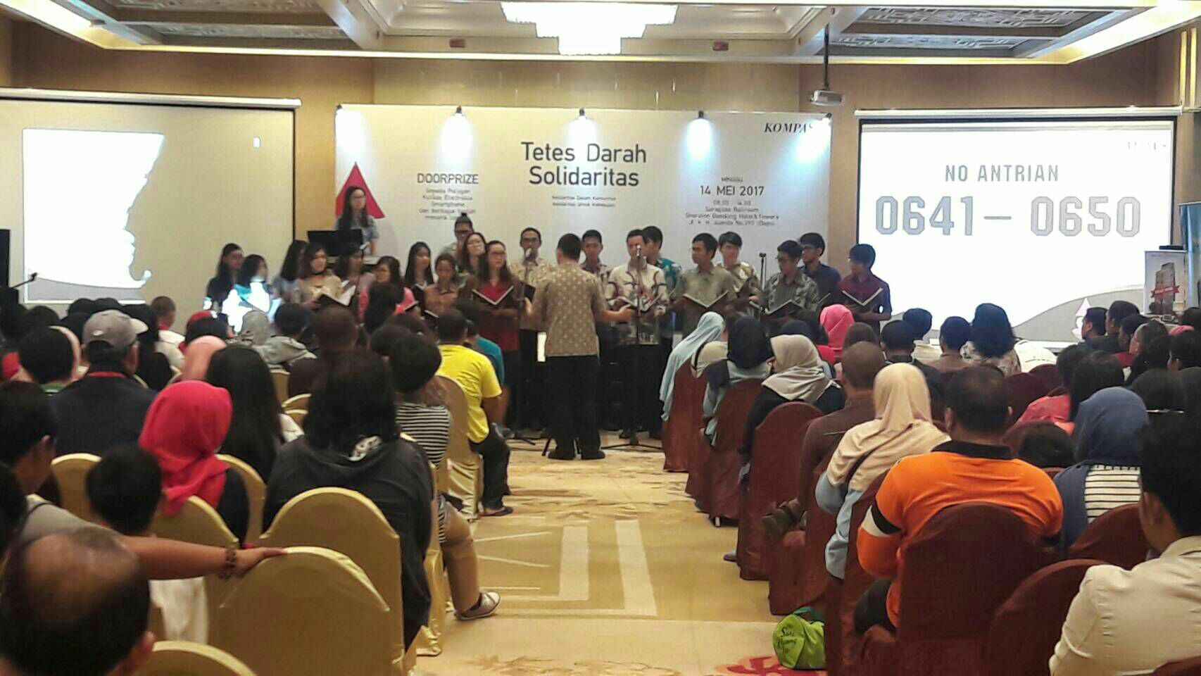 PSM-ITB on Stage: Donor Darah KOMPAS