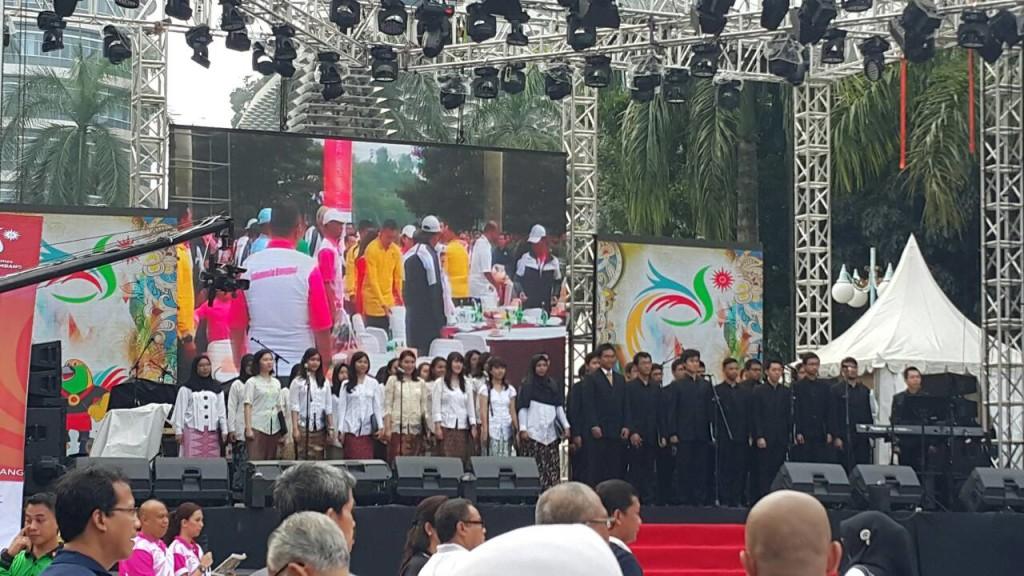 PSM-ITB dalam Grand Launching Logo dan Maskot Asian Games 2018