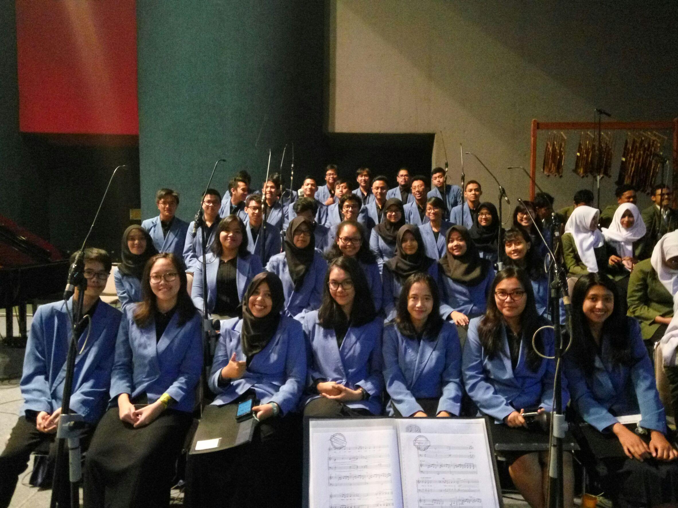 PSM-ITB dalam Sidang Terbuka Penerimaan Mahasiswa Baru ITB Tahun Akademik 2017/2018