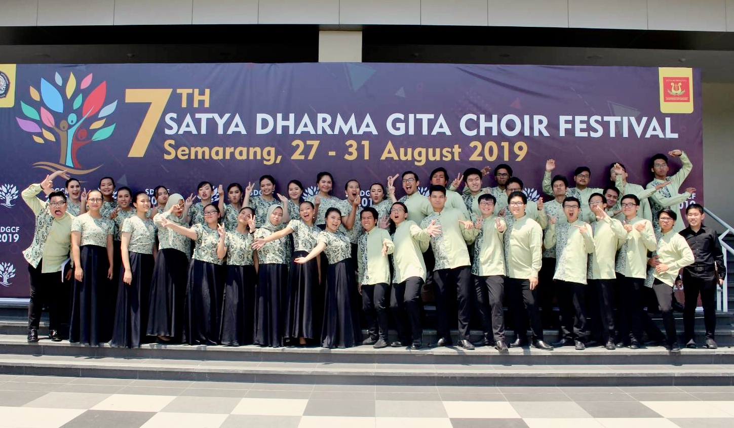 ITB Student Choir Competed in the 7th Satya Dharma Gita Choir Festival 2019